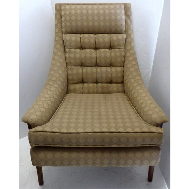 Mid-Century Adrian Pearsall Style Chairs - A Pair - Image 4 of 8