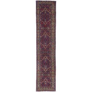 20th Century Persian Mashhad Hallway Runner - 2′7″ × 11′10″ For Sale