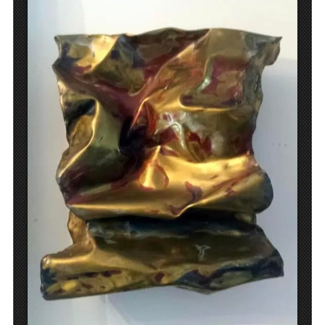 Silas Seandel Sculpture Convoluted Wall Piece For Sale - Image 12 of 12