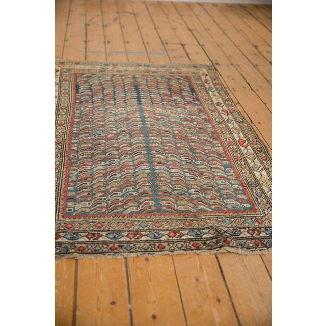 """Boho Chic Vintage Caucasian Rug - 3'7"""" X 5'8"""" For Sale - Image 3 of 12"""