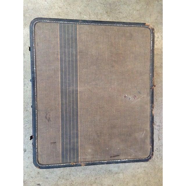 Vintage 1950s Tan Suitcase - Image 3 of 5