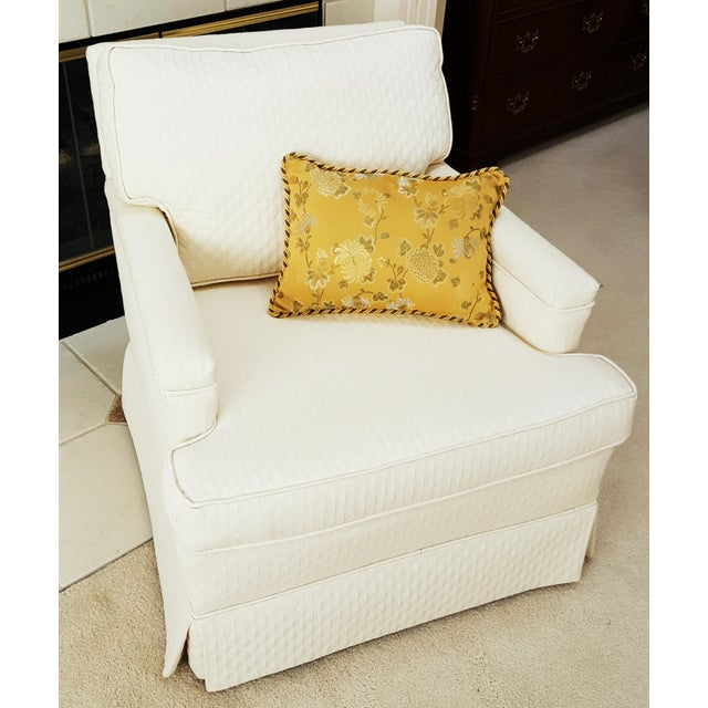 Mid-Century Modern Tailored Cushion Arm Chair - Image 2 of 9