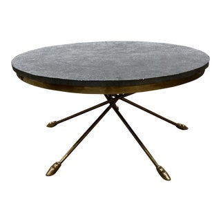 Century Furniture Grand Tour Shagreen Style Cocktail Table For Sale