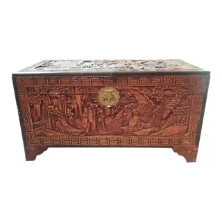 20th Century Chinese Camphor Chest For Sale