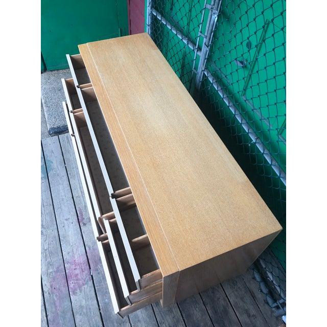 Tan 1960s Mid Century Modern Kent Coffey Nine Drawer Dresser For Sale - Image 8 of 11