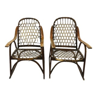 Vintage Snocraft Arm Chairs - a Pair For Sale