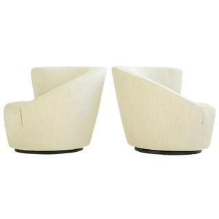 Vladimir Kagan Swivel Lounge Chairs For Sale