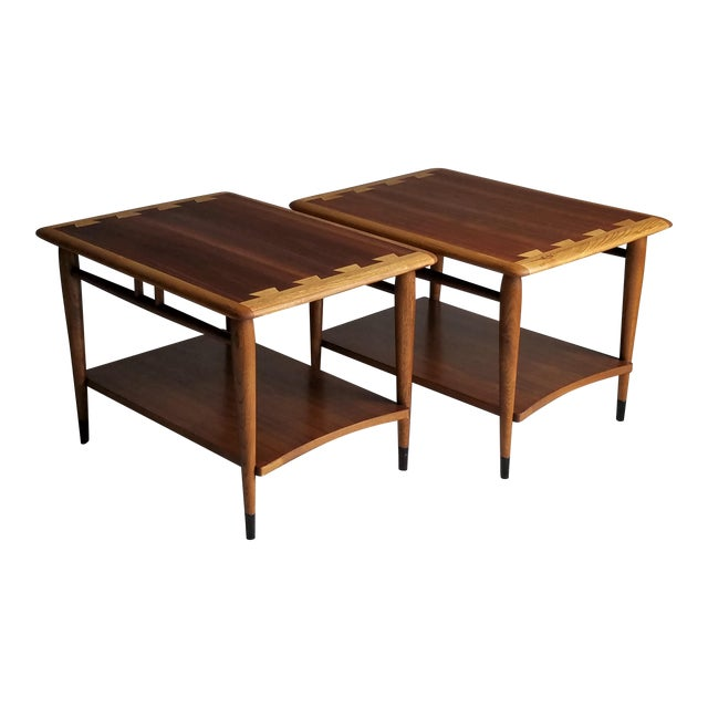 Lane Mid-Century Acclaim Side Tables - A Pair - Image 1 of 8