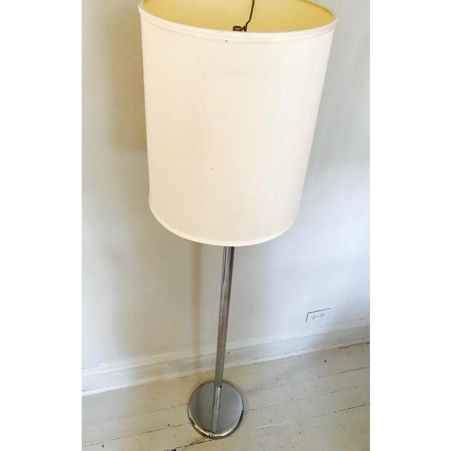 Vintage Classic George Kovacs Chrome Floor Lamp - Image 3 of 4