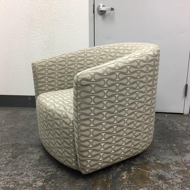 Dellarobbia New Della Robbia Mila Swivel Chair For Sale - Image 4 of 7