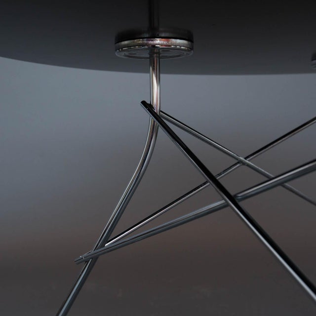 Silver Kartell Glossy Table by Antonio Citterio For Sale - Image 8 of 10