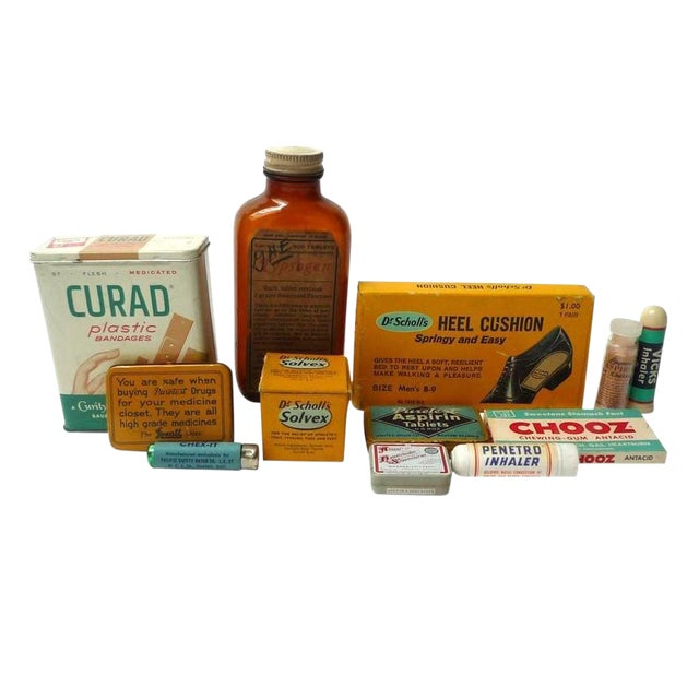 Vintage First Aid Kit Accessories - Image 1 of 4