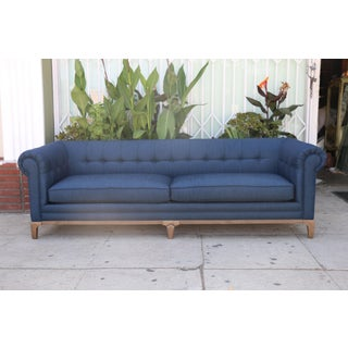 Modern Blue Tufted Sofas Preview