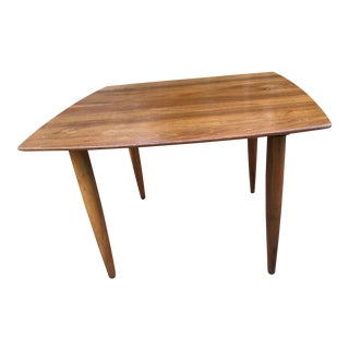 20th Century Danish Modern Teak Side Table For Sale