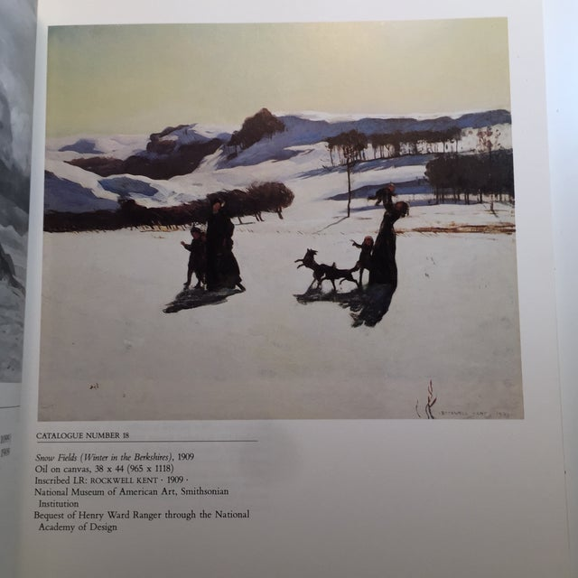Paper 1985 The Paintings of Rockwell Kent Book For Sale - Image 7 of 11
