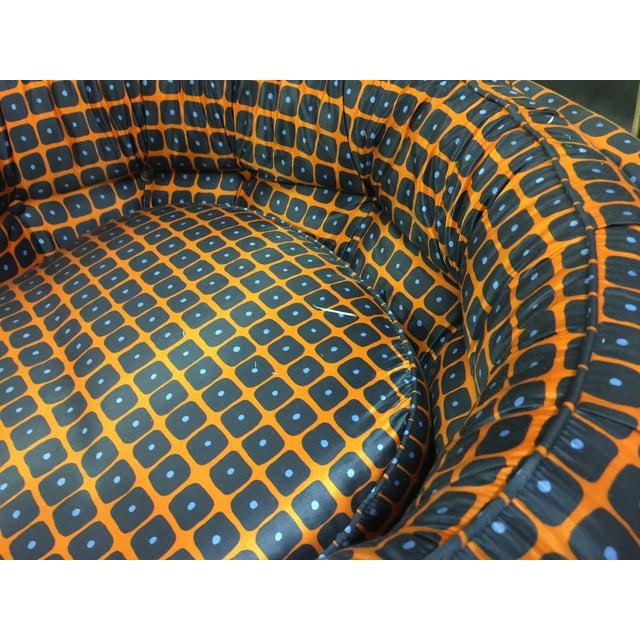Milo Baughman Style Swivel Chair - Image 2 of 4
