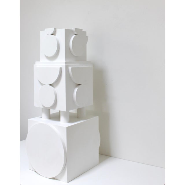 Column sculpture by Angela Chrusciaki Blehm