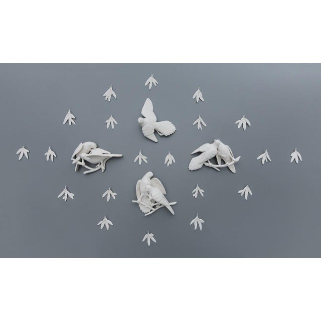 Contemporary Kate MacDowell, Feather Trade: Carolina Parakeets, 2016 For Sale - Image 3 of 3
