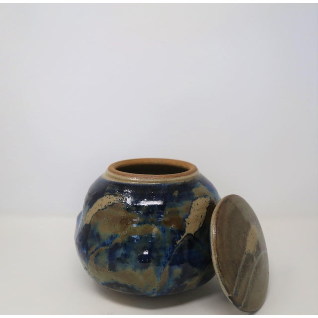Mid-Century Modern Ishmael Soto Pot, Signed For Sale - Image 3 of 7