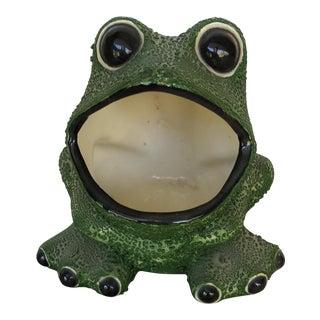 Mid-Century Modern Frog Planter
