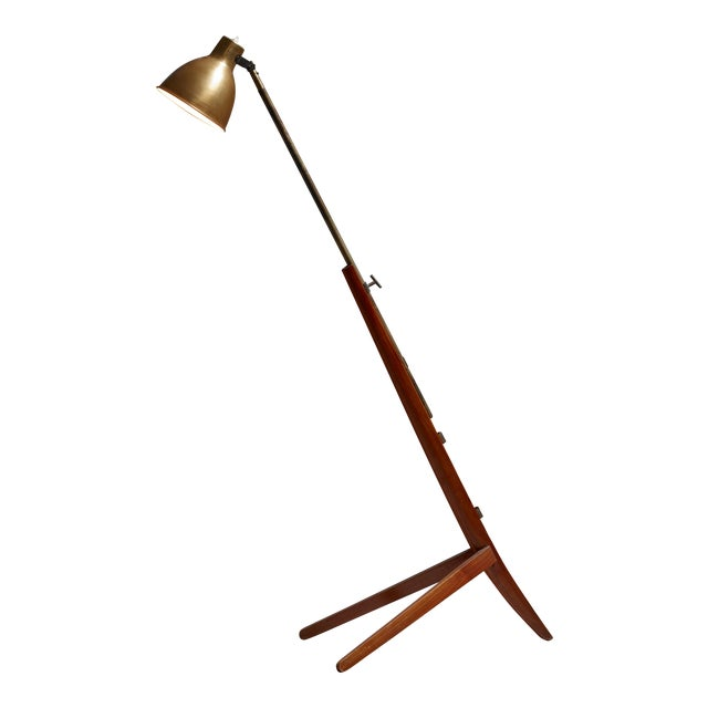 Franco Albini Very Rare Mitragliera floor lamp, Italy, 1940 For Sale