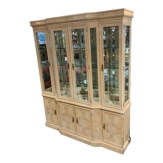 Drexel Heritage Corinthian China Cabinet For Sale