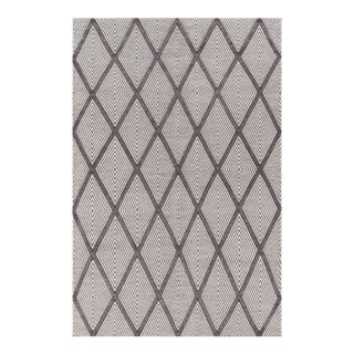 "Erin Gates by Momeni Langdon Spring Charcoal Hand Woven Wool Area Rug - 45"" X 69"""