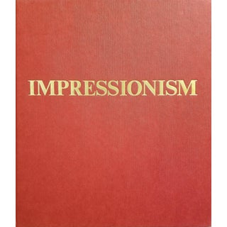 Impressionism Art Coffee Table Book For Sale