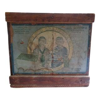 Antique Cape Cod Wooden Cranberry Box For Sale