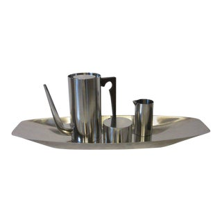 Arne Jacobsen Designed Stelton Danish Coffee Set