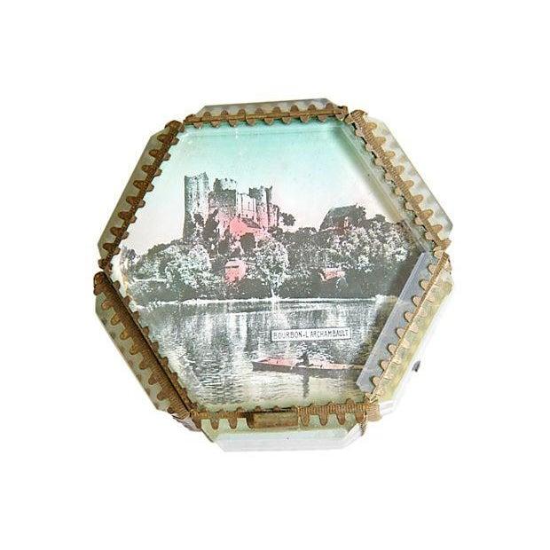 Antique French Souvenir Boxes - A Pair - Image 7 of 8