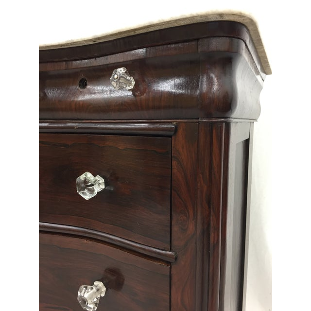 Antique Marble Top Chest of Drawers - Image 8 of 8