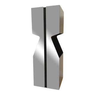 Neal Small for Kovacs Chrome Pedestal Lamp For Sale