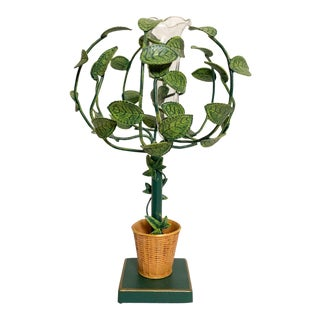 Tole Topiary Budvase For Sale