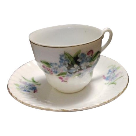 Vintage China Cup and Saucer - Image 1 of 6