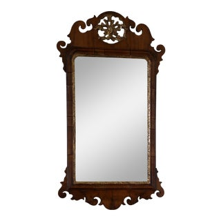 Late 1700s American Chippendale Period Mirror For Sale