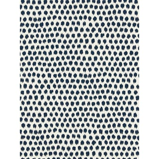 Scalamandre Dot Weave, Indigo Fabric For Sale