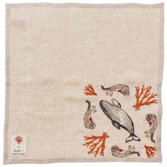 Coral Forest Dinner Napkin - Image 3 of 7