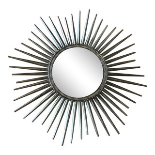 Contemporary Sunburst Mirror