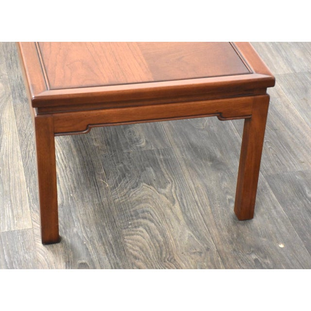 Coffee Mid Century Walnut Coffee Table For Sale - Image 8 of 10