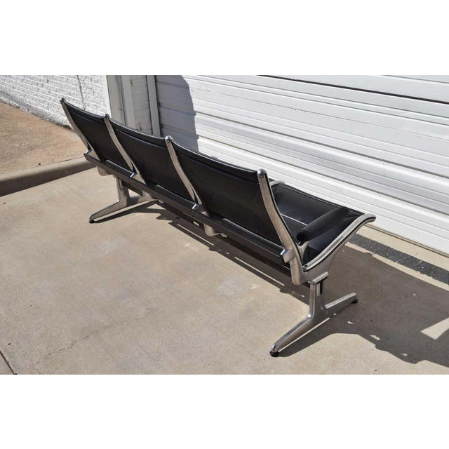 Eames for Herman Miller Tandem Sling Airport Bench For Sale - Image 9 of 11