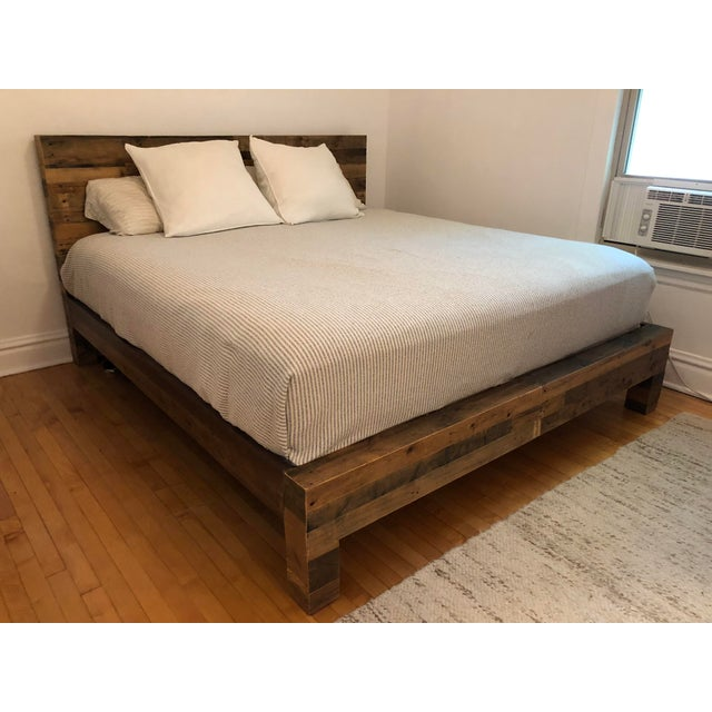 Emmerson King Size Reclaimed Wood