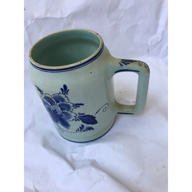 Hand Painted Personalized Delft Mug For Sale - Image 5 of 10