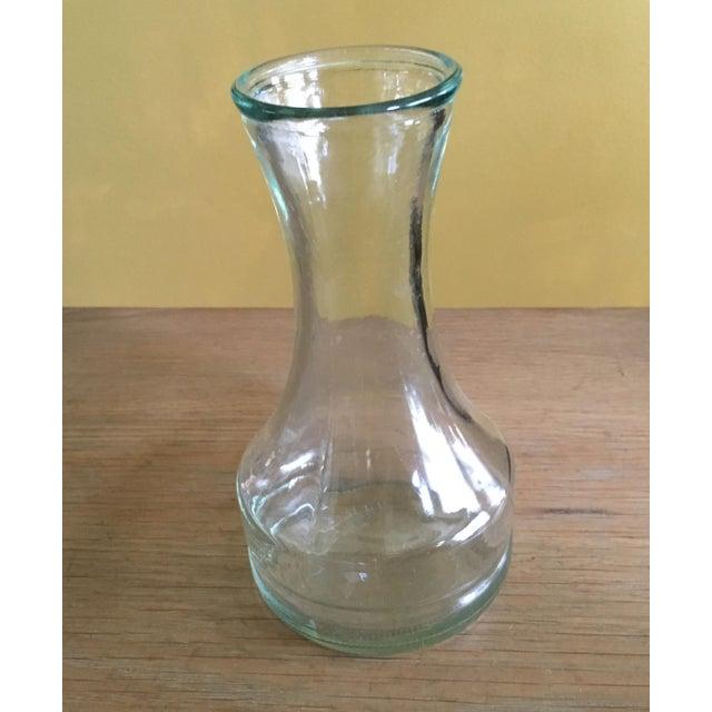 Vintage Clear Glass Vase - Image 4 of 4
