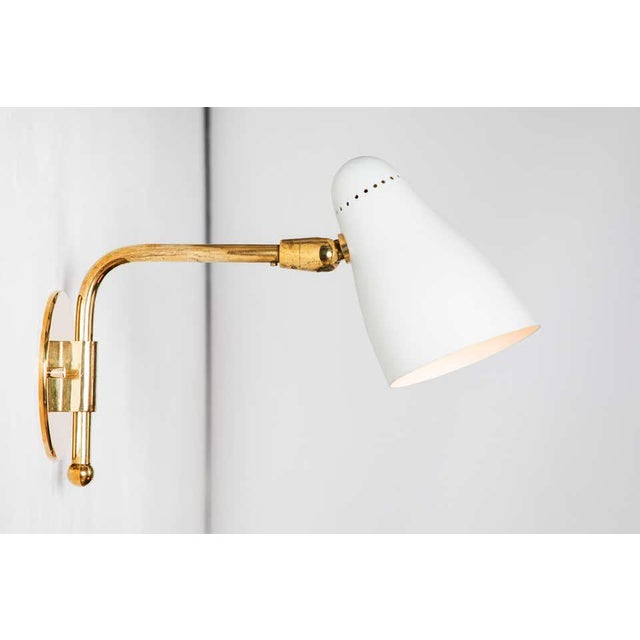 1950s 1950s Giuseppe Ostuni Articulating Arm Sconces for O-Luce - a Pair For Sale - Image 5 of 13