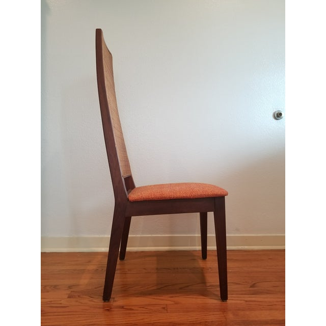 Mid-Century Modern Tempo of California Mid-Century Cane Back Dining Chairs - Set of 4 For Sale - Image 3 of 11