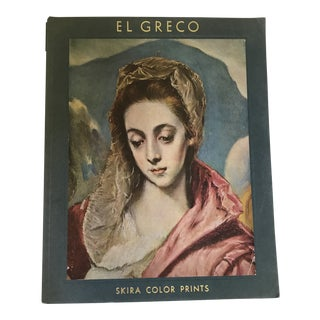 "1958 ""El Greco"" First Edition Art Folio Book For Sale"