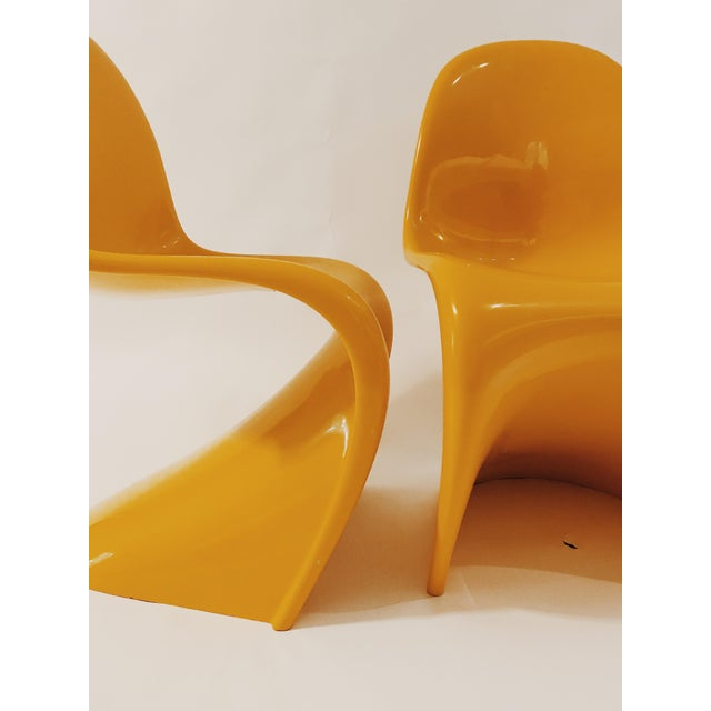 "Plastic Verner Panton ""S"" Chair - Set of 4 For Sale - Image 7 of 11"