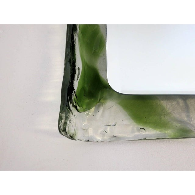 Italian Murano Glass Bathroom Set by Mazzega For Sale In Palm Springs - Image 6 of 13