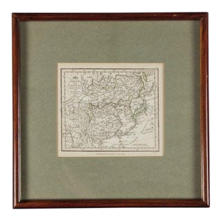 Late 1700s Antique Chinese Tartary (London) Map For Sale